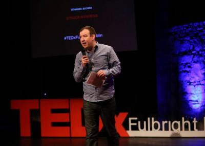 Chris MM Gordon TEDx Fulbright