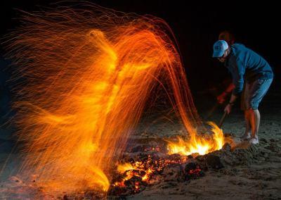 Firewalking Ireland Chris MM Gordon